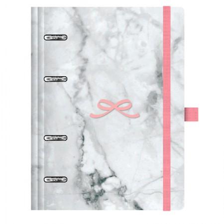 Planner Maxi Pink Stone Marmoré - 4526-5 - Ótima
