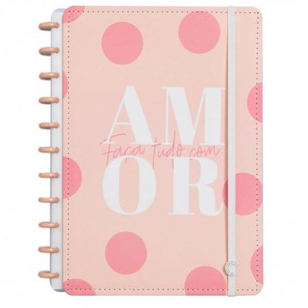 Caderno inteligente grande Cor de Rosa - CIGD4051