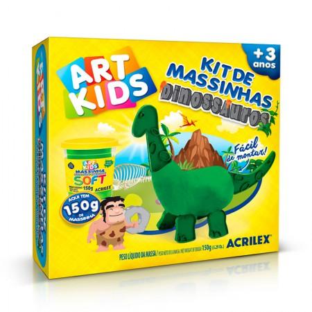 Massinha Art Kids Dinossauros 1 - 40049 - Acrilex