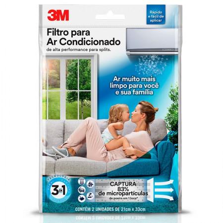 Filtro de alta performance para ar condicionado split - 3M