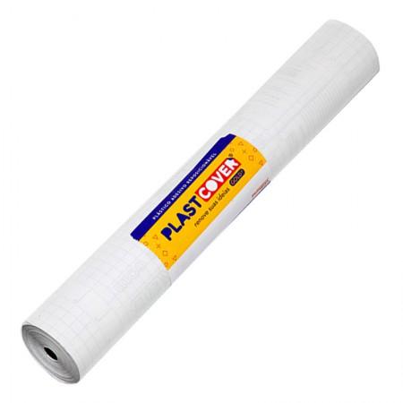 Adesivo Transparente - rolo com 25 metros - C130 - Plastcover