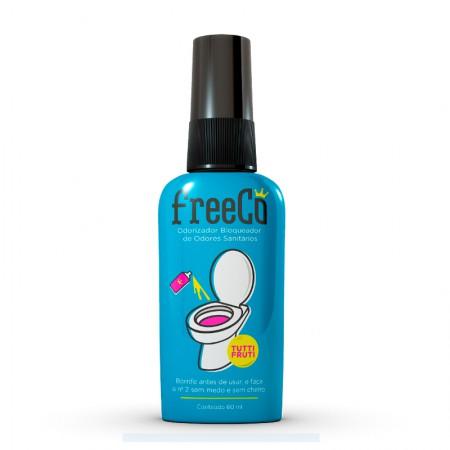 Odorizador Bloqueador Sanitario 60ml Freeco - Tutti-Frutti