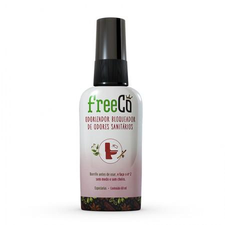 Odorizador Bloqueador Sanitario 60ml Freeco - Especiarias