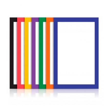 Bloco ecocores com moldura 110g - 297x420mm - 35 folhas com 7 cores - Novaprint