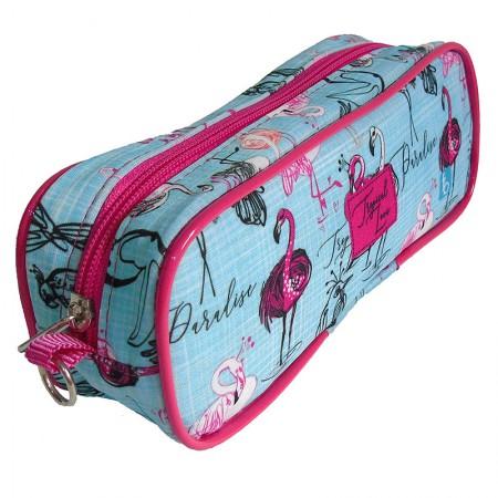 Estojo escolar com ziper - 105-1140/20 - Sport I Flamingo - Franesb