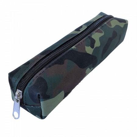 Estojo escolar pequeno - 100-M1328VD/20 - Camuflado Verde - Franesb
