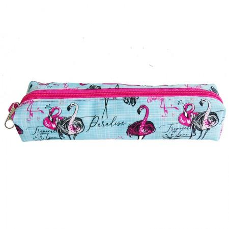 Estojo escolar pequeno - 100-1140/20 - Flamingo - Franesb