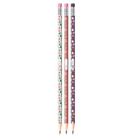 Lápis preto Flores - unidade - Cis