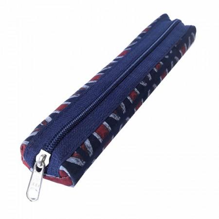 Estojo escolar com ziper - 109-M0065/20 - Canudinho Inglaterra - Franesb