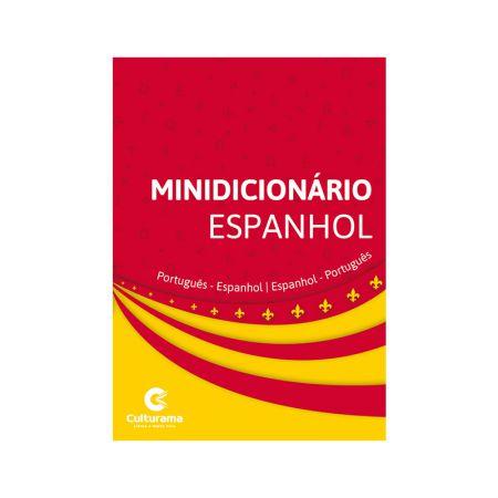 Minidicionário de Espanhol - off set - 610013 - Culturama