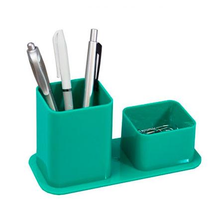 Porta lápis/clips - verde - 3030.T - Dello