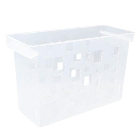 Caixa arquivo Dellocolor sem pasta - Cristal - 0329.H - Dello