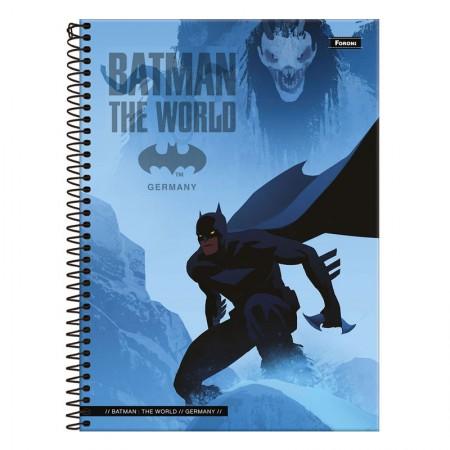 Caderno espiral capa dura universitário 1x1 - 96 folhas - Batman Teen - Capa 4 - Foroni