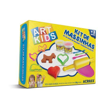 Massinha kit Massa de Modelar 3 - Art Kids - 40003 - Acrilex