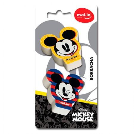 Borracha Mickey - com 2 unidades - 22660 - Molin