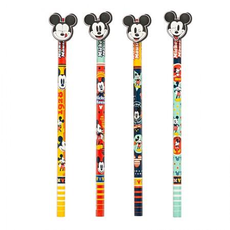 Lápis preto Top Mickey - 22656 - 1 unidade - Disney - Molin