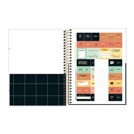 Caderno colegial capa dura 10x1 - 160 folhas - West Village - 2 - Tilibra