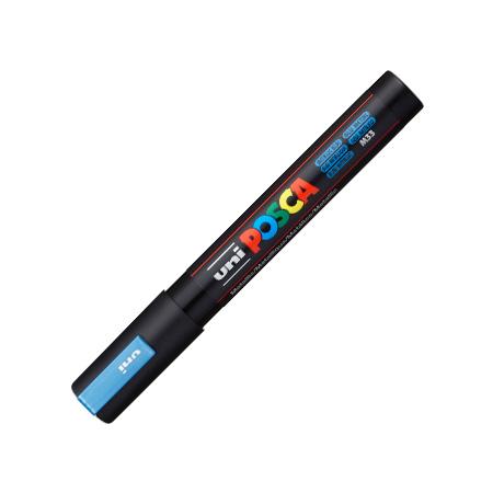 Caneta Posca PC-5M - azul metálico - Uni-Ball