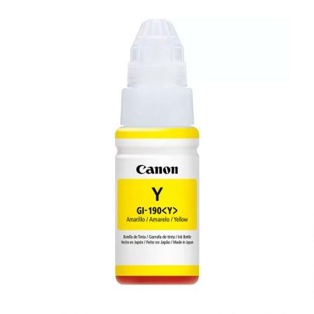 Cartucho Canon GI190AM - Amarelo 70ml