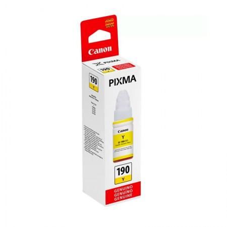 Cartucho Canon GI190Y - Amarelo 70ml
