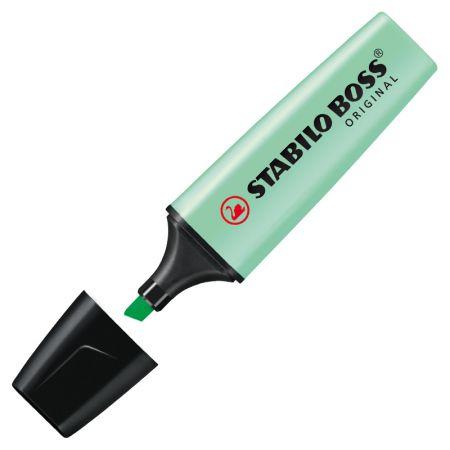 Pincel marca texto Boss Pastel - Verde - 70/116 - Stabilo