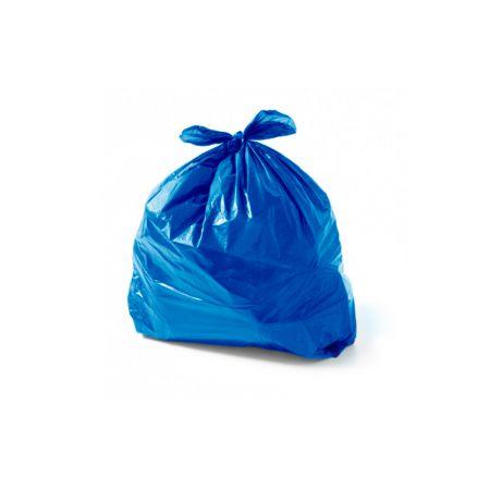 Saco para lixo 30 llitros Azul - com 100 unidades - Fortbag
