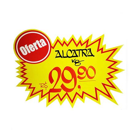 Splash amarelo com oferta - 5209 - com 25 unidades - 12x19 cm - Radex