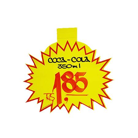 Splash liso amarelo - 5211 - com 25 unidades - 16x20 cm - Radex