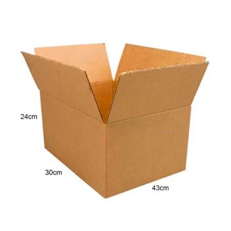 Caixa papelão transporte/mudança - C43xL30xA24cm - ACS