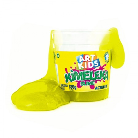Kimeleka Art Kids 180g - Amarelo Limão 504 - Acrilex