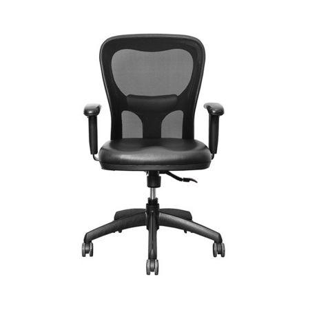 Cadeira citiz giratoria preta CSV5000 sem apoio de cabeça - Rossi