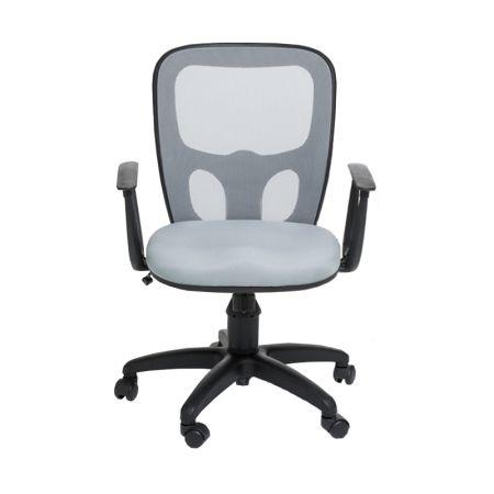 Cadeira India giratoria pta relax - Cinza - T1011 - CA0445  - Rossi