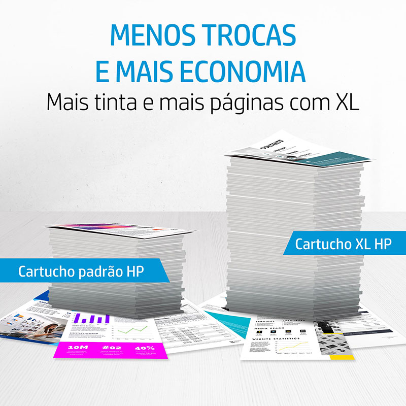 Garrafa de tinta HP (GT52) refil M0H55AL - Magenta 70ML