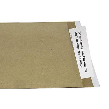 Envelope saco bolha 25x35 cm - interno para documentos - Radex