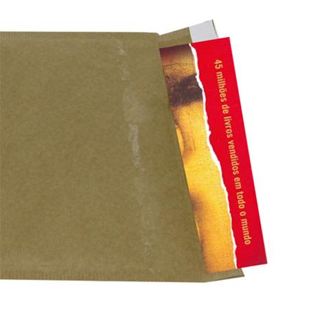 Envelope saco bolha 19x25 cm - interno para 1 unidade de fita de vídeo - Radex