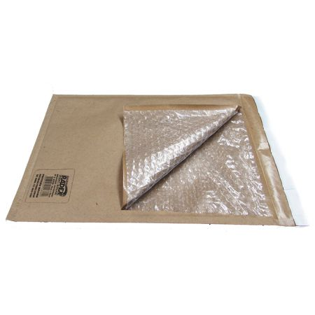 Envelope saco bolha 17x18 interno p/ 1 unidade de cd - Radex