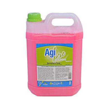 Desinfetante Agi Pro Cleene - Floral - com 5 litros - Archote