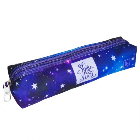Estojo escolar pequeno - 100-0154/20 - Magic Blue - Franesb