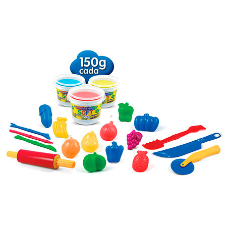 Massinha kit Mini Chef - Art Kids - 40008 - Acrilex