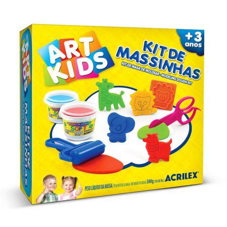 Massinha kit Massa de Modelar 7 - Art Kids - 40007 - Acrilex