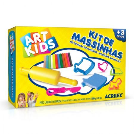 Massinha kit Massa de Modelar 2 - Art Kids - 40002 - Acrilex