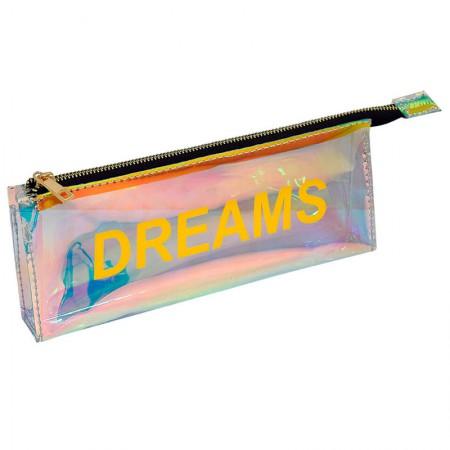 Estojo escolar com ziper - E214 - Words - Dreams - Dac