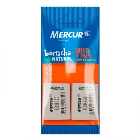 Borracha branca record 20 - Blister com 2 unidades - Mercur