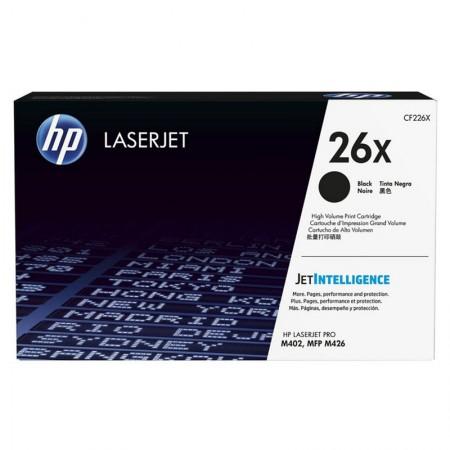 Toner HP (26X) CF226X - preto 9.000 páginas - serie M402/M426