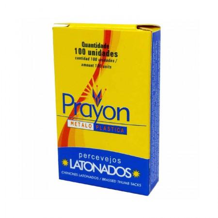 Percevejo latonado - caixa com 100 unidades - Prayon