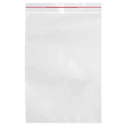 Saco plástico zip lock transparente - 17 x 26 cm - Asterplas