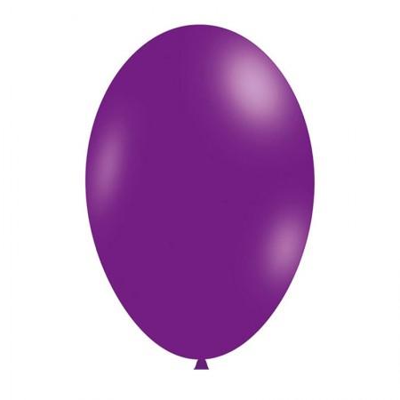 Bexiga lavanda número 7 - Art Festa - com 50 unidades - Balloontech