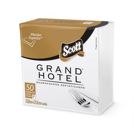 Guardanapo folha dupla Grand Hotel 23,8x21,8cm - com 50 folhas - Scott