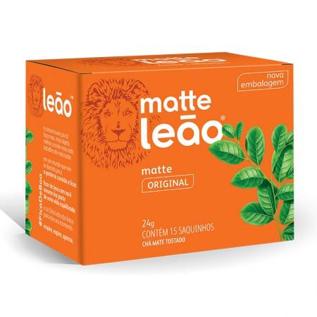 Chá natural - com 15 unidades - Matte Leão
