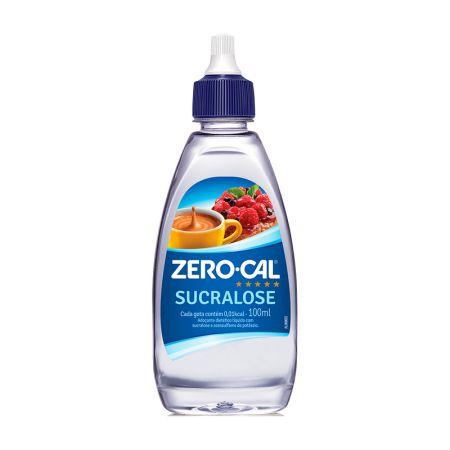 Adoçante líquido 100ML - Sucralose - Zero Cal